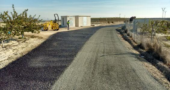 Mejora de los caminos rurales
