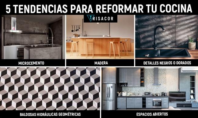 5 tendencias reformas de cocinas 2020