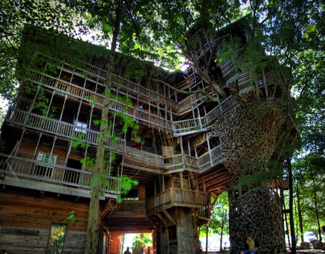 Casa árbol más grande del mundo
